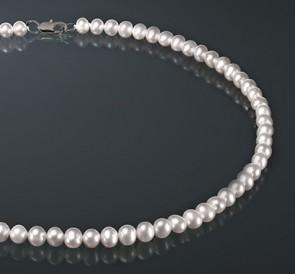 Ожерелье изо жемчуга б065-б