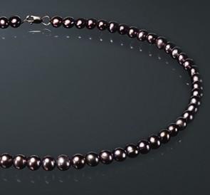 Ожерелье с жемчуга ш075-с