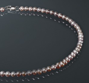 Ожерелье с жемчуга л065-б