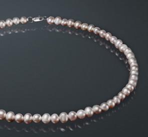 Ожерелье изо жемчуга л075-с
